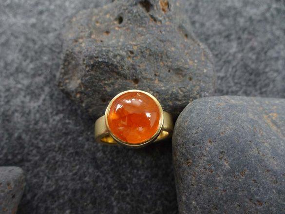 Ring Mandaringranat